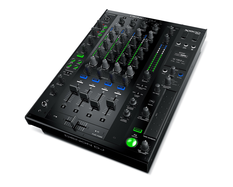 Neu: Denon DJ X1800 Prime - 4-Kanal Clubmixer