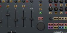 Gemini MAS 1 - Controller mit Soundkarte für Ableton Live