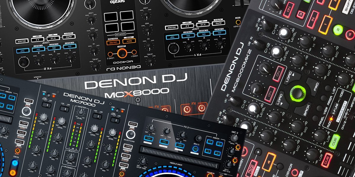 Übersicht: Funktionsvergleich aktueller Denon DJ Controller