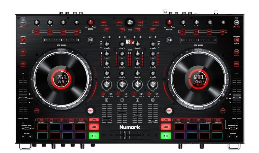 Neu: Numark NS6 II – 4-Kanal Controller für Serato DJ