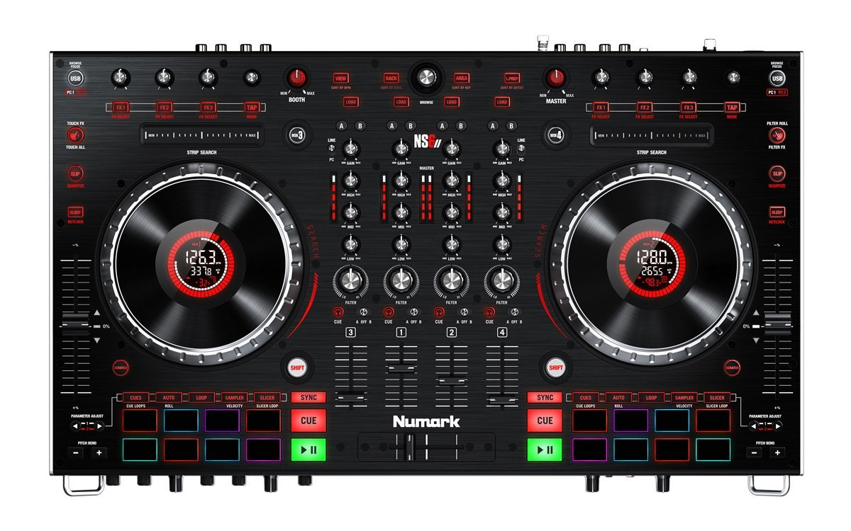 Neu: Numark NS6 II - 4-Kanal Controller für Serato DJ