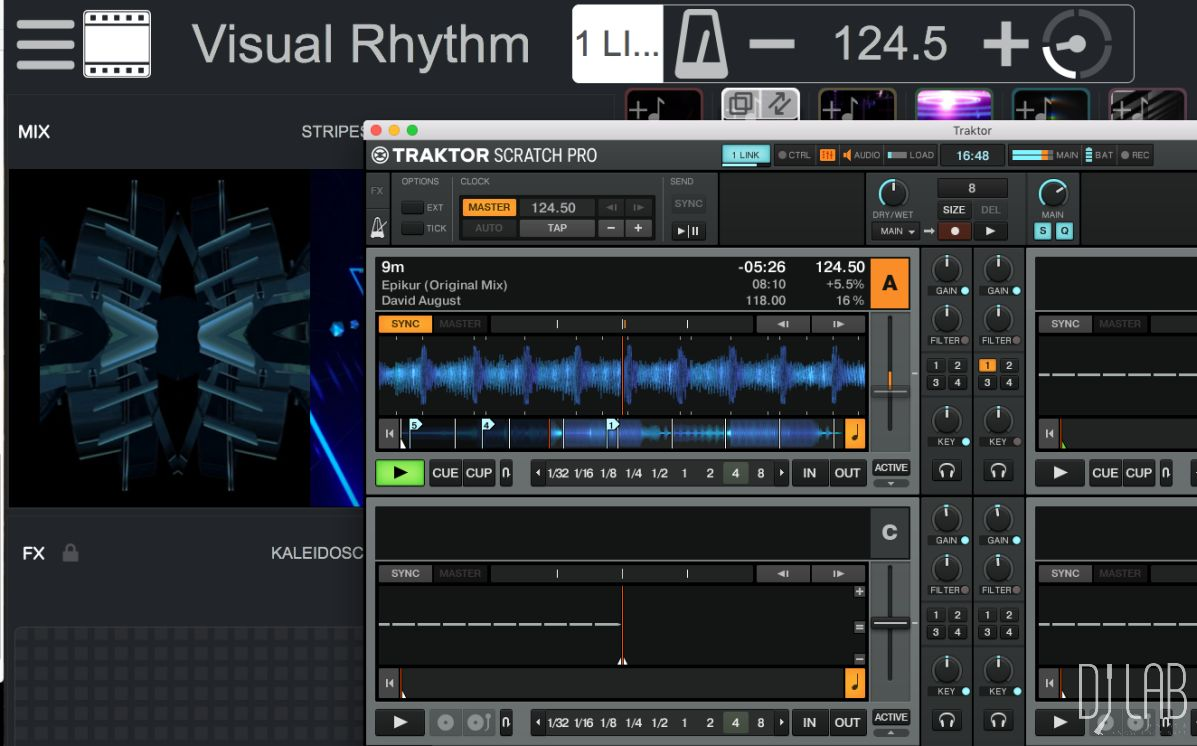 Remixvideo in Sync mit Traktor