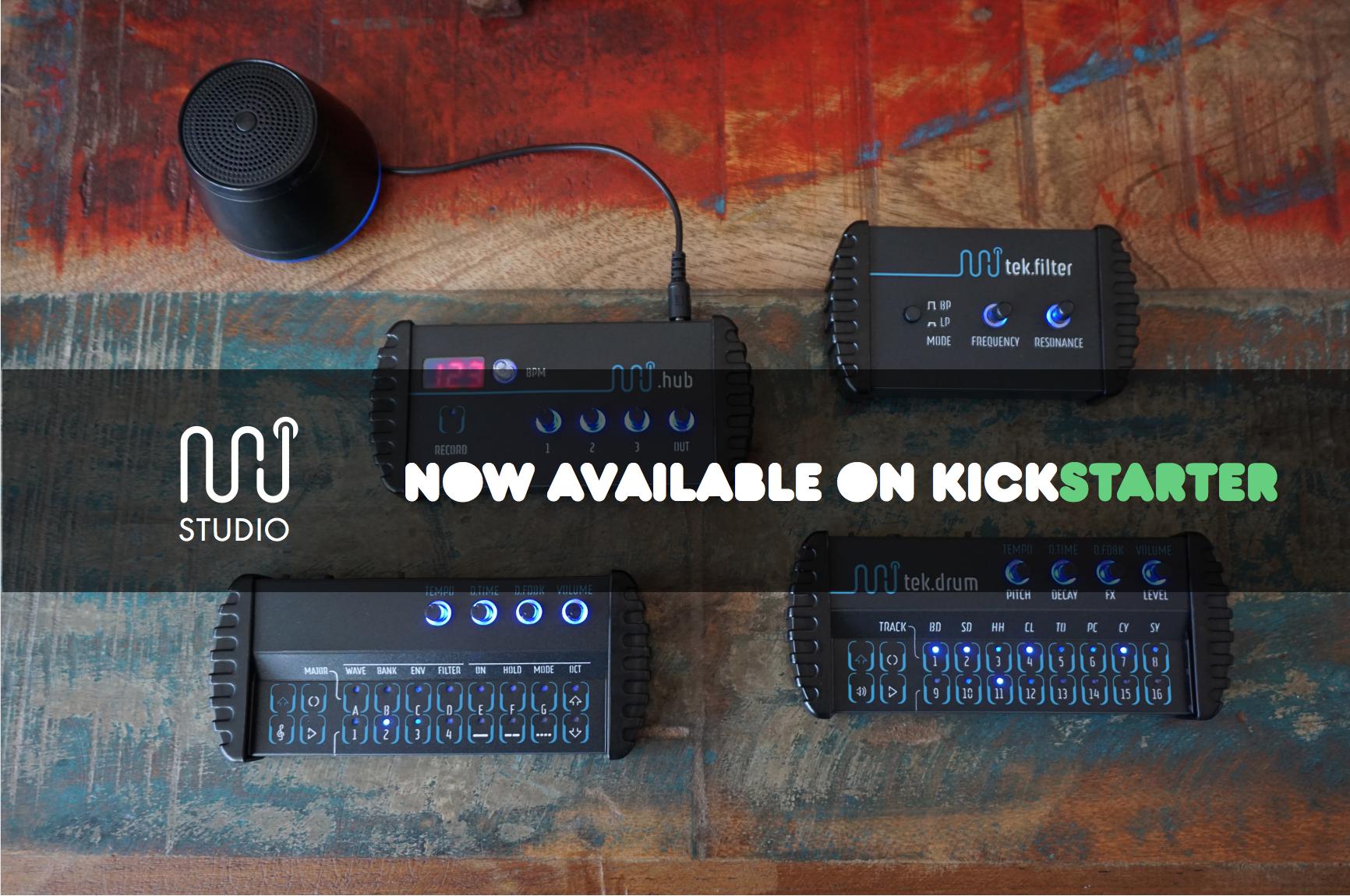 Minijam Studio - das tragbare Studio, jetzt auf Kickstarter