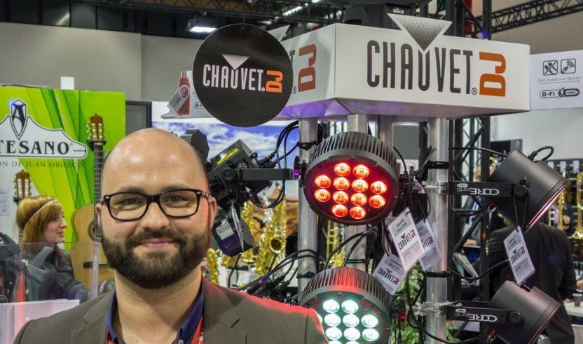 Interview mit Chauvet DJ Produktmanager Patrick Ast