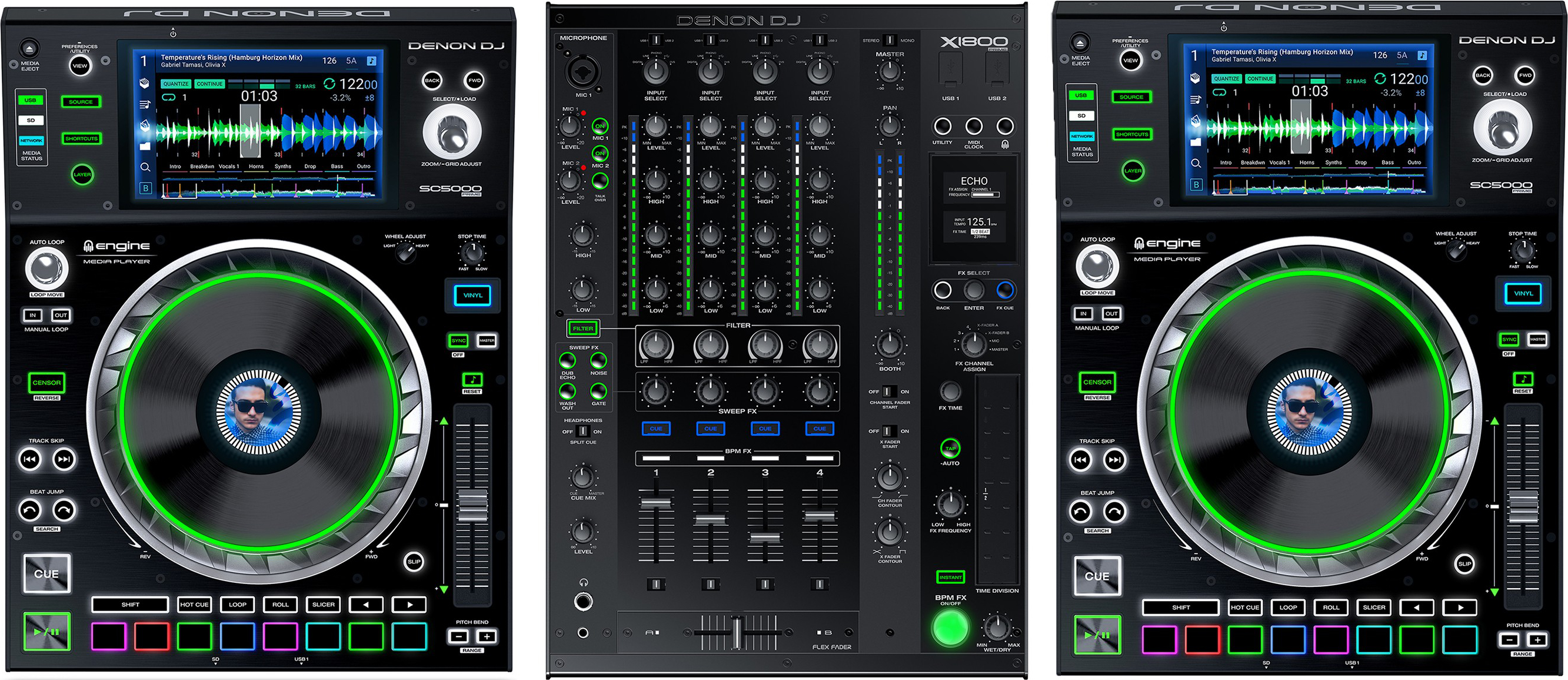 Test: Denon DJ SC5000 & X1800 Prime – Professionelles Kraftpaket?