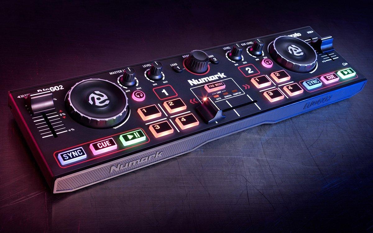 Neu: Numark DJ2GO2 - Pocket DJ Controller