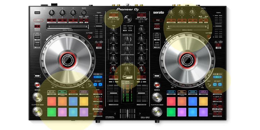 Pioneer-ddj-sr2-top-changes