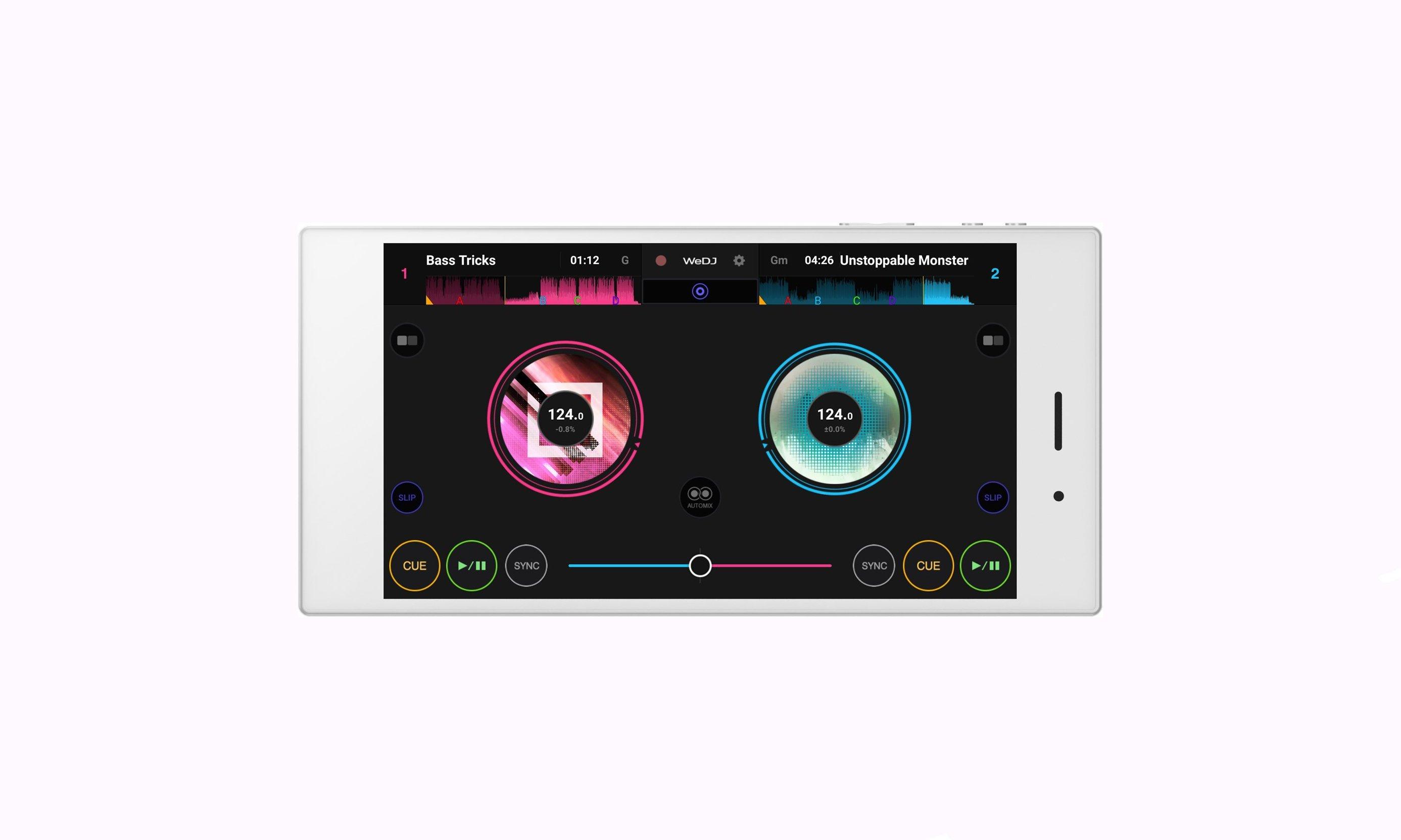 Neu: Pioneer's WeDJ nun auch für Android