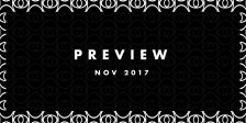 Preview: Upcoming Tracks November 2017