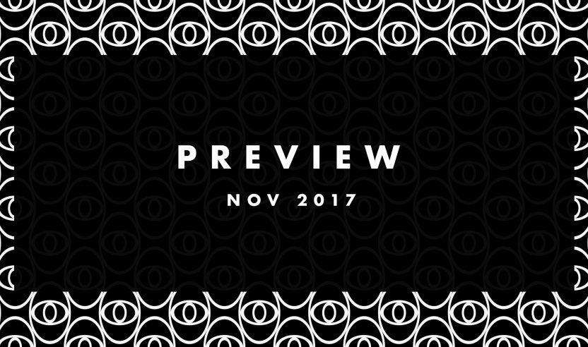 Preview: Upcoming Tracks November 2017