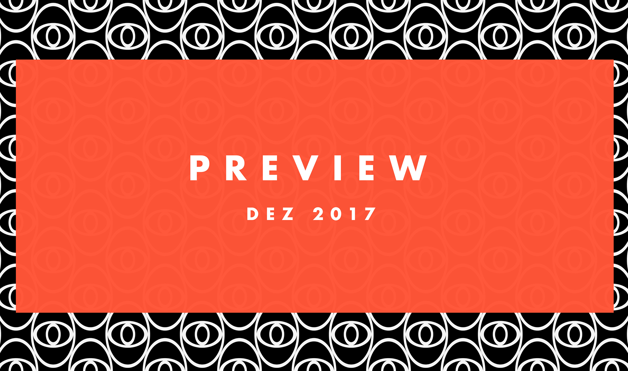 Preview: Upcoming Tracks Dezember 2017