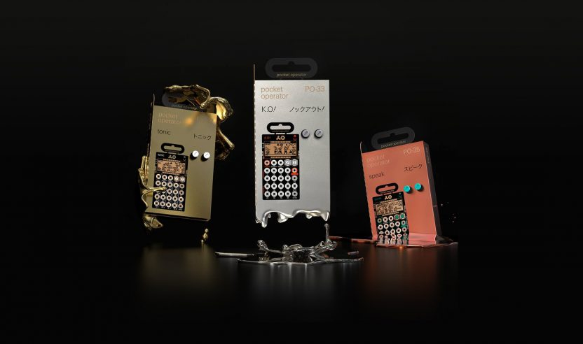 NAMM 2018: Teenage Engineering stellt neue Pocket Operator vor