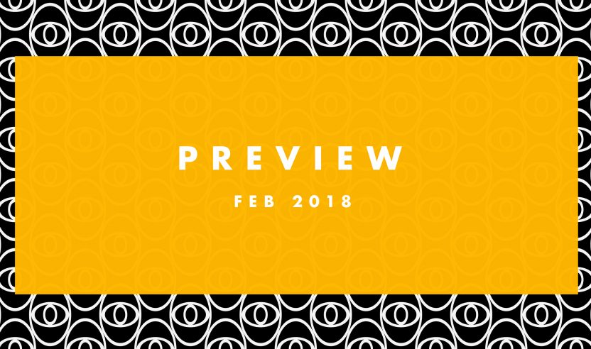 Preview: Upcoming Tracks Februar 2018