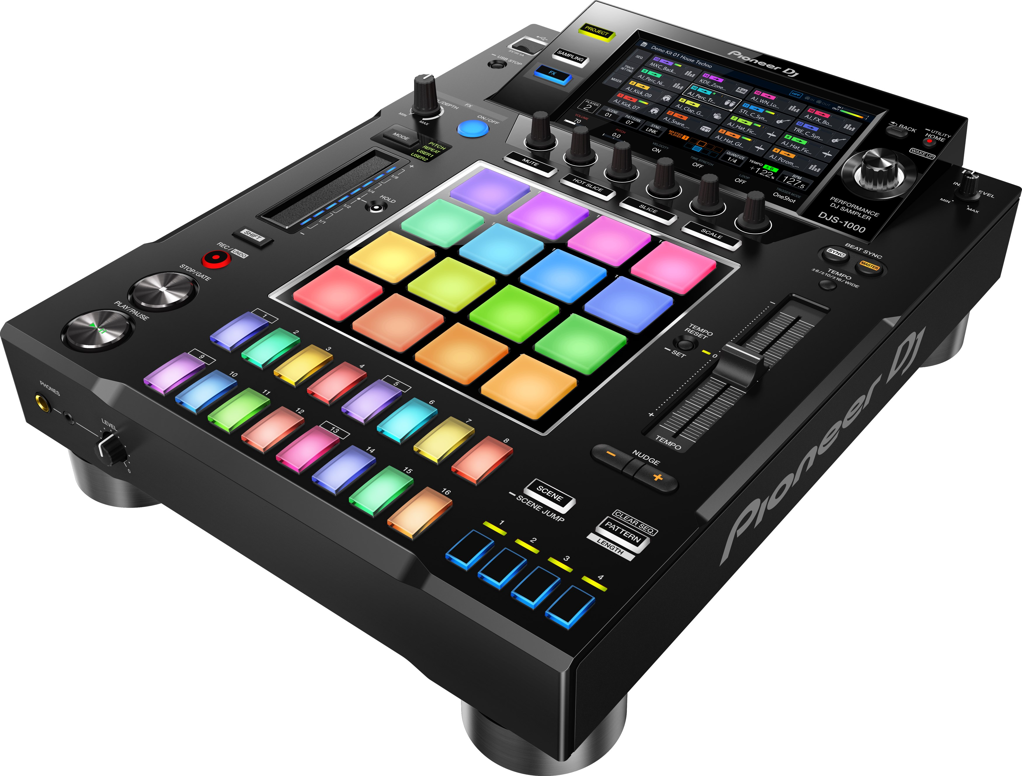 Pioneer DJ DJS-1000 in Aktion.