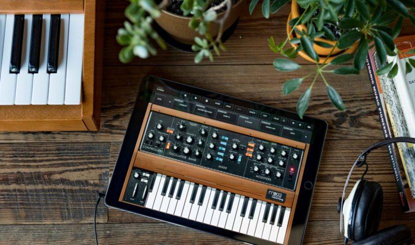 Moog präsentiert den Minimoog als iPad-App