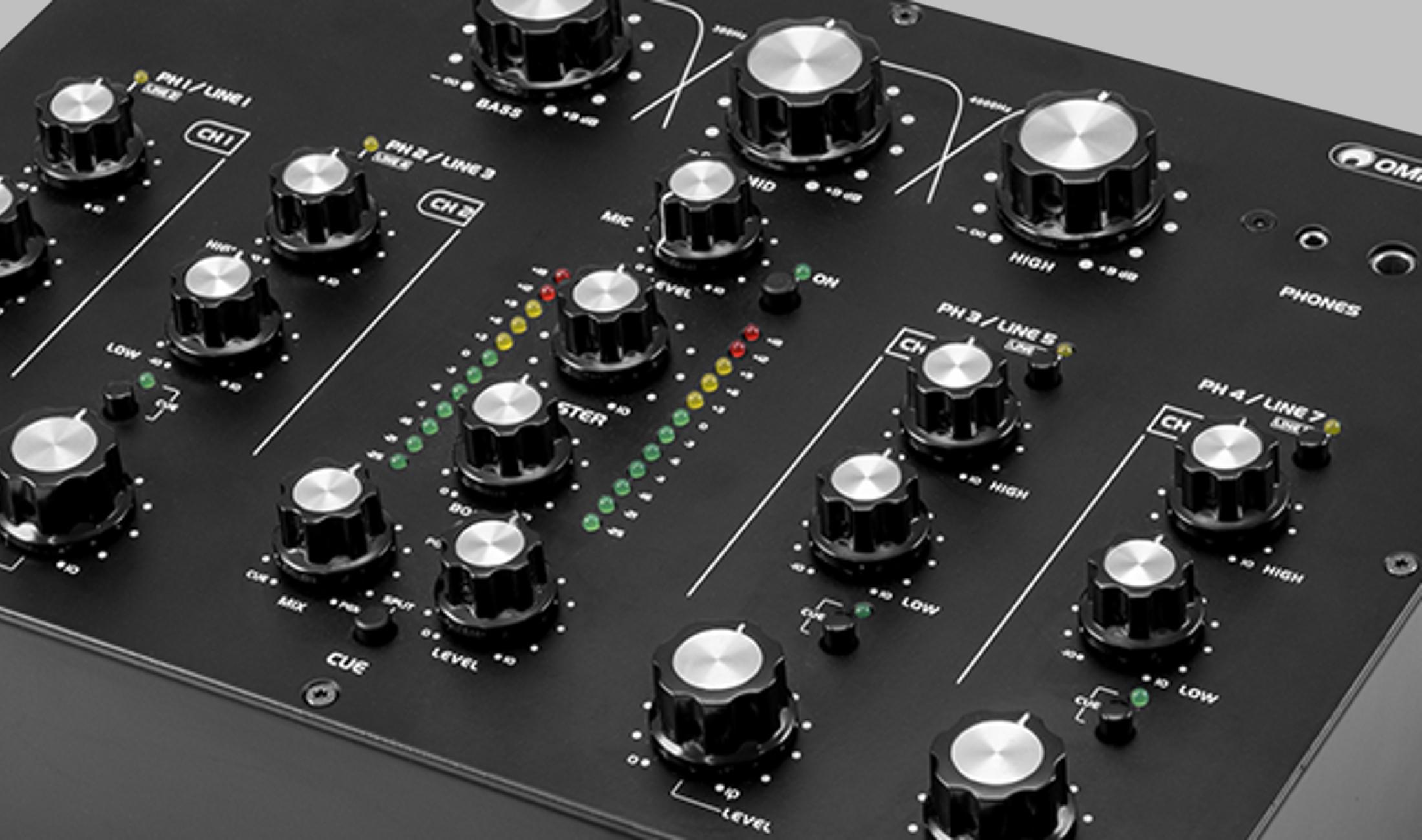 Angekündigt: Omnitronic TRM-402 – Rotary Mixer