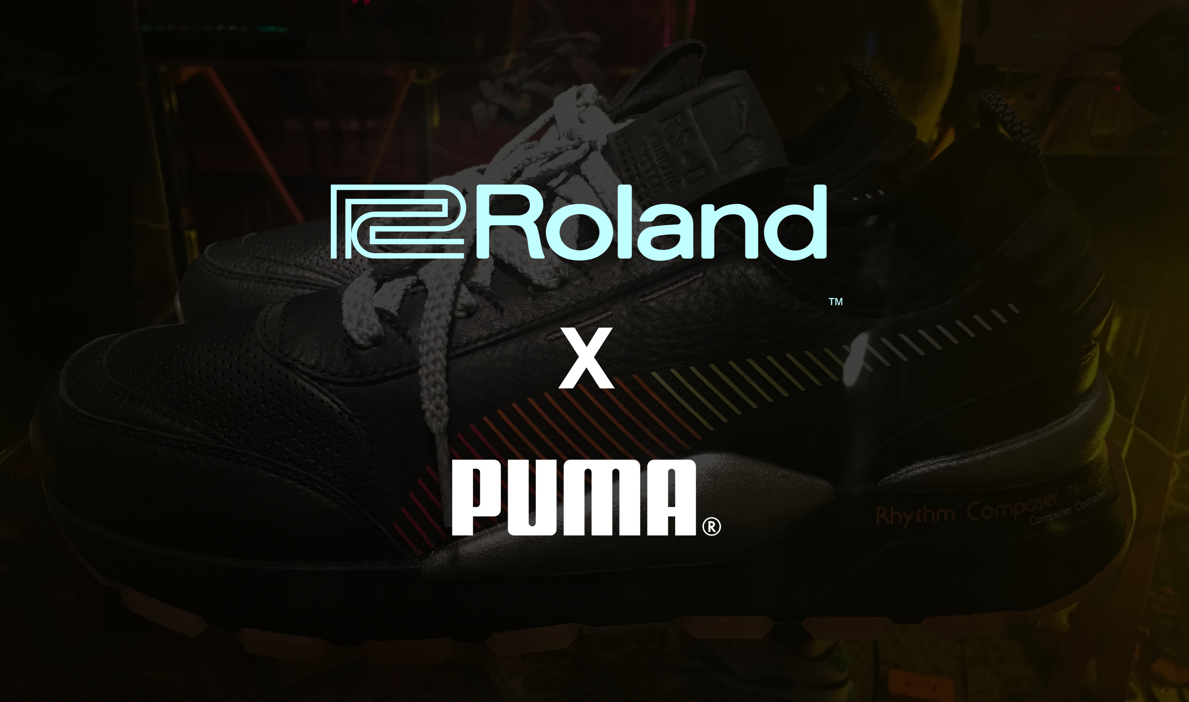 Roland stellt TR-808-Sneaker mit Puma vor