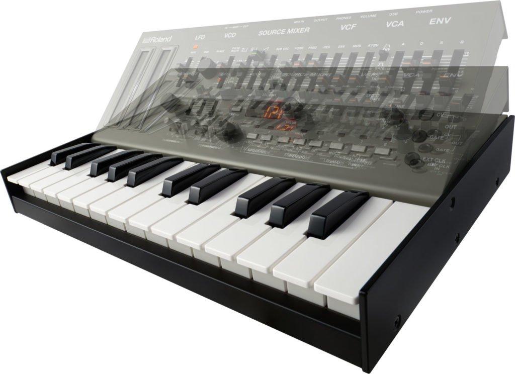 K25M Klaviatur des Roland SH-01A.