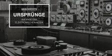 Geschichte der elektronischen Musik – die 50er