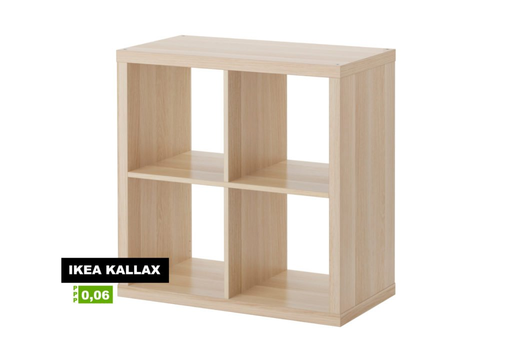 Klassiker: Kallax als Plattenregal.