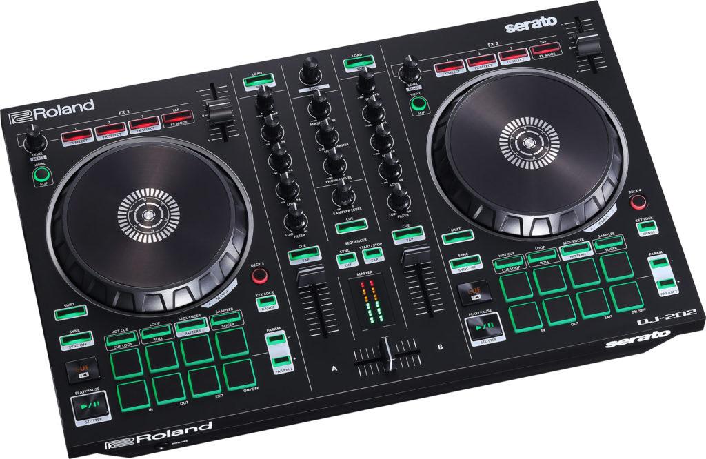 DJ-202 Controller Schrägansicht