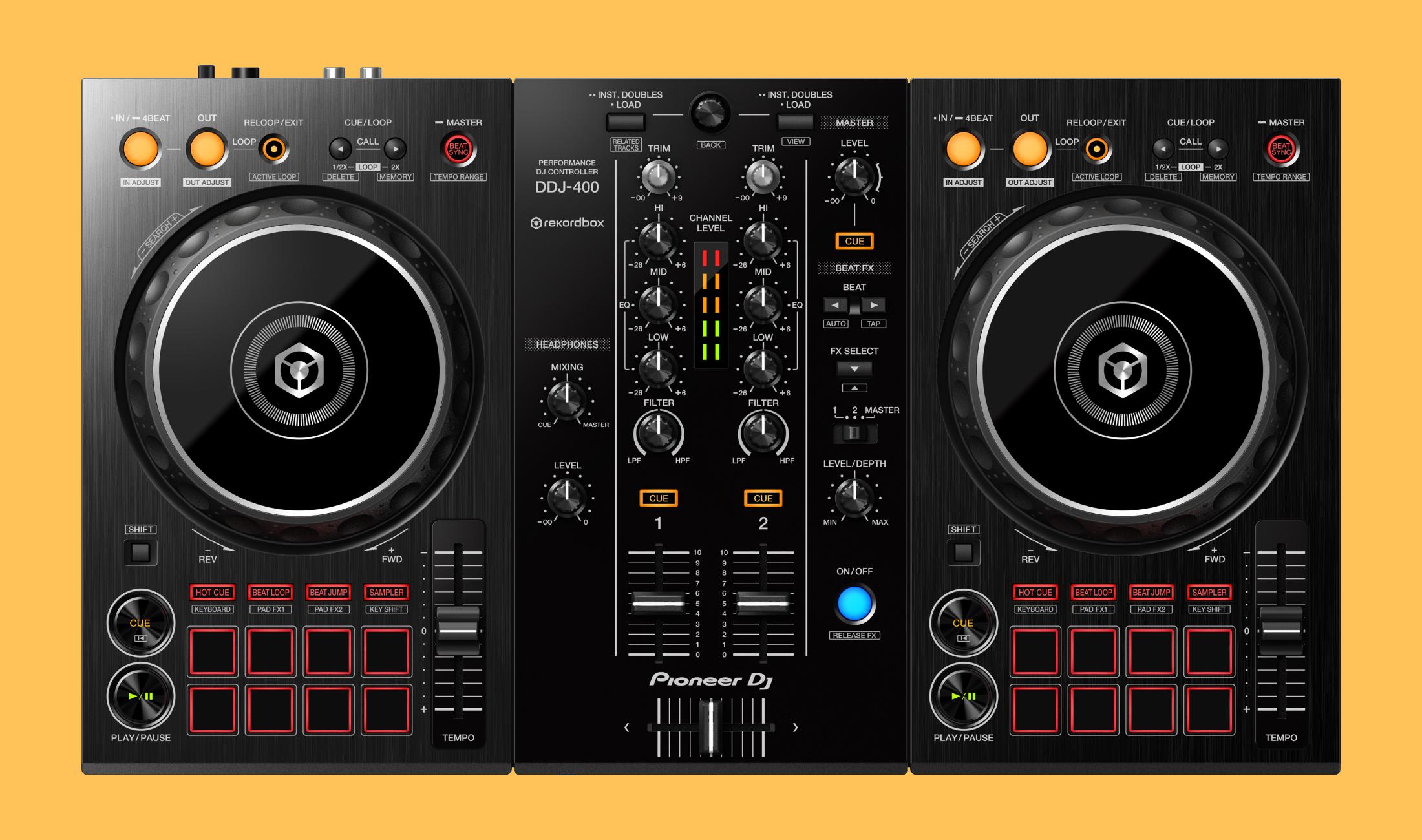 Neu angekündigt: Pioneer DJ DDJ-400