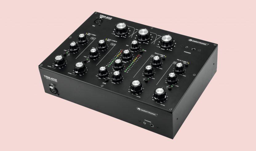 Test: Omnitronic TRM-402 – Rotary Mixer