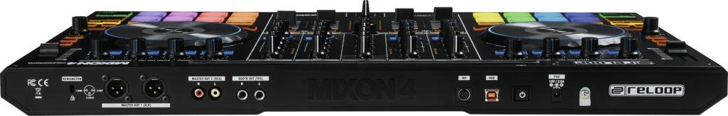 Reloop Mixon 4 DJ-Controller Rückseite