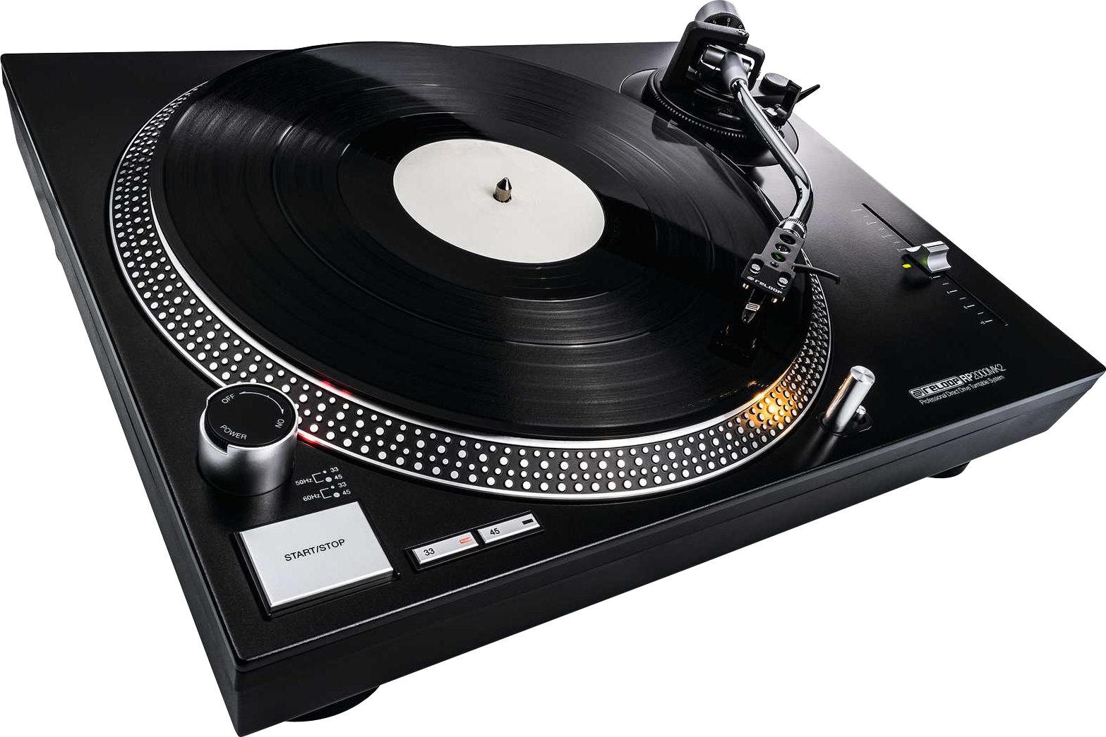Test: Reloop RP-2000 MK2 / DJ-Plattenspieler