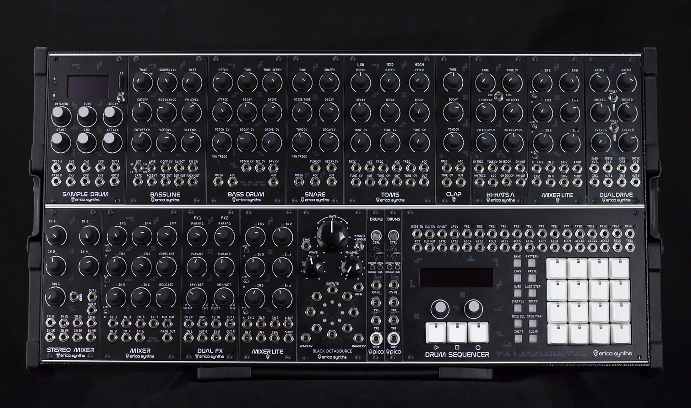 Erica Techno System – Komplettsystem mit Sequenzer