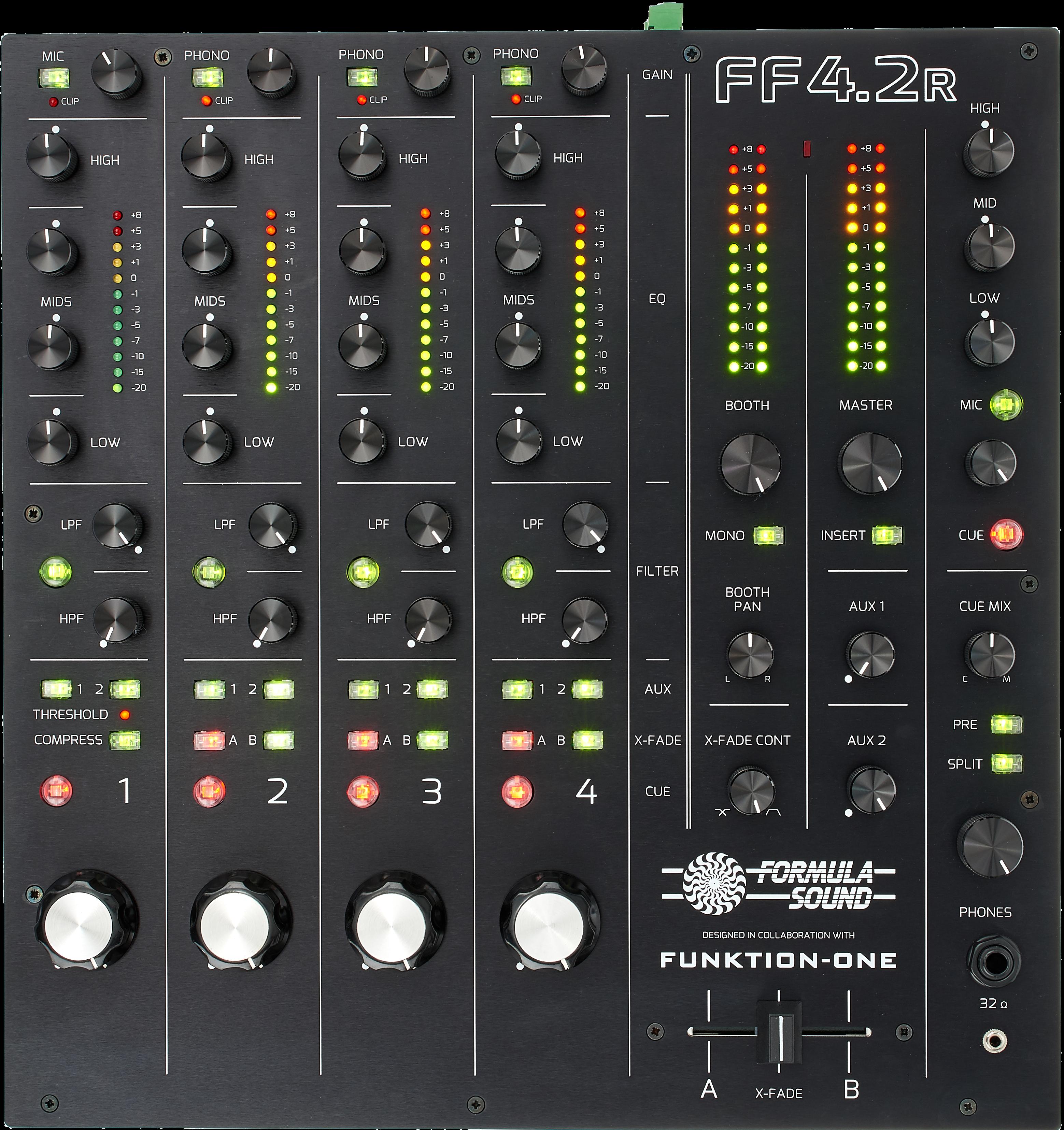 Rotary Mixer von Formula Sound.