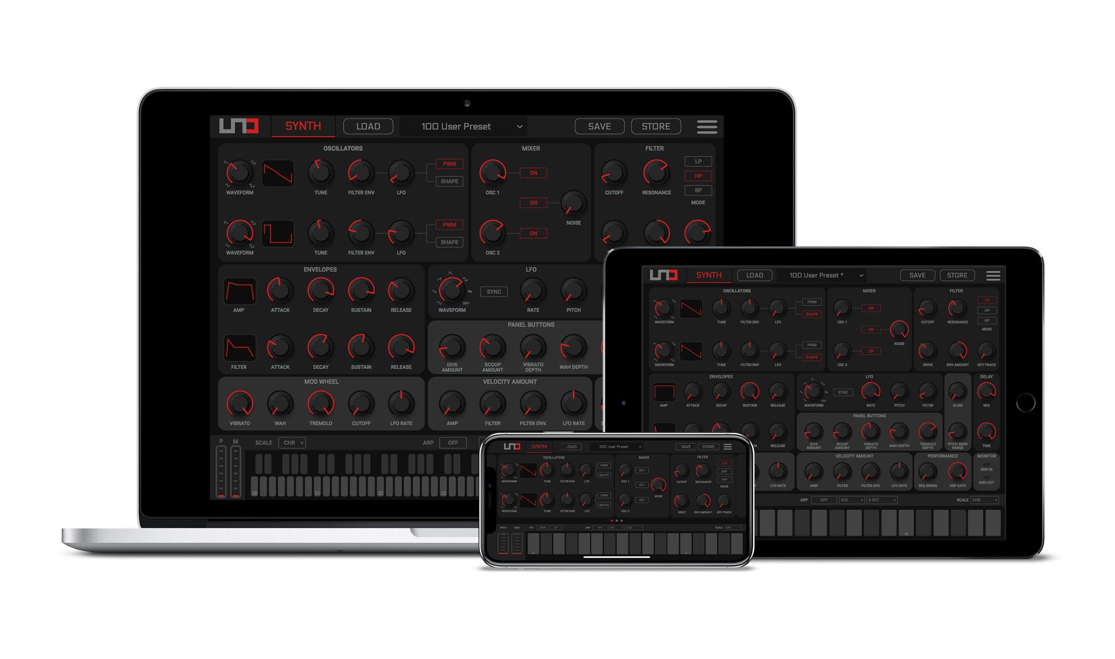 IK Multimedia veröffentlich Editor für UNO Synth