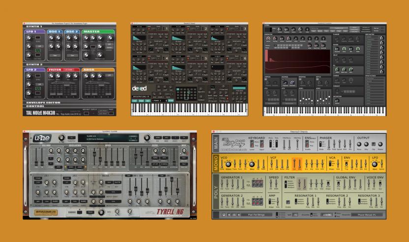 Überblick: Die Fünf besten gratis Software-Synthesizer für PC + Mac