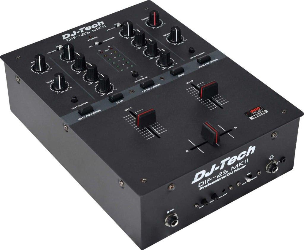 DJ-Mixer für Einsteiger: DJ-Tech DIF-2S MK2.