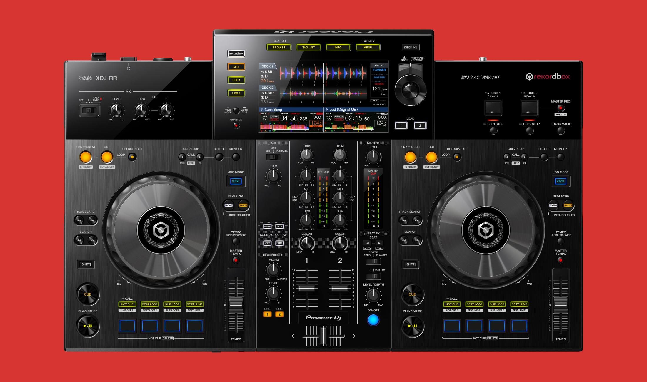 Neu vorgestellt: Pioneer DJ XDJ-RR