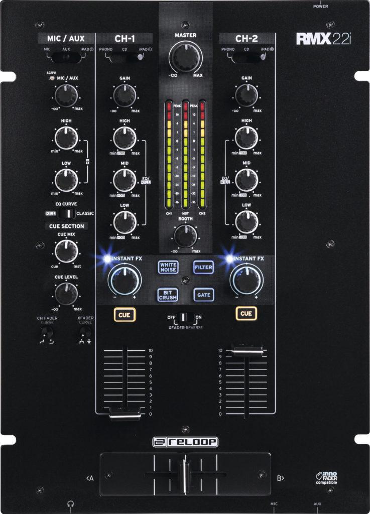 DJ-Mixer für Einsteiger: Reloop RMX-22i.