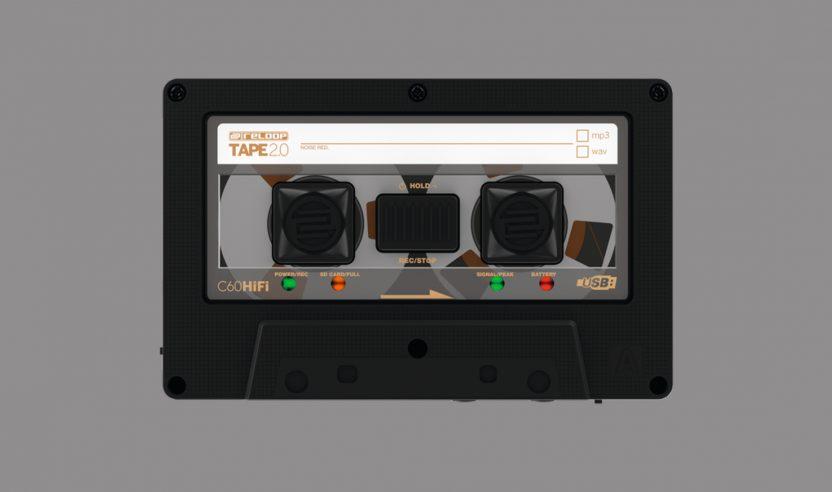 Reloop Tape 2 ist die Neuauflage des mobilen Recorders in Kassetten-Optik