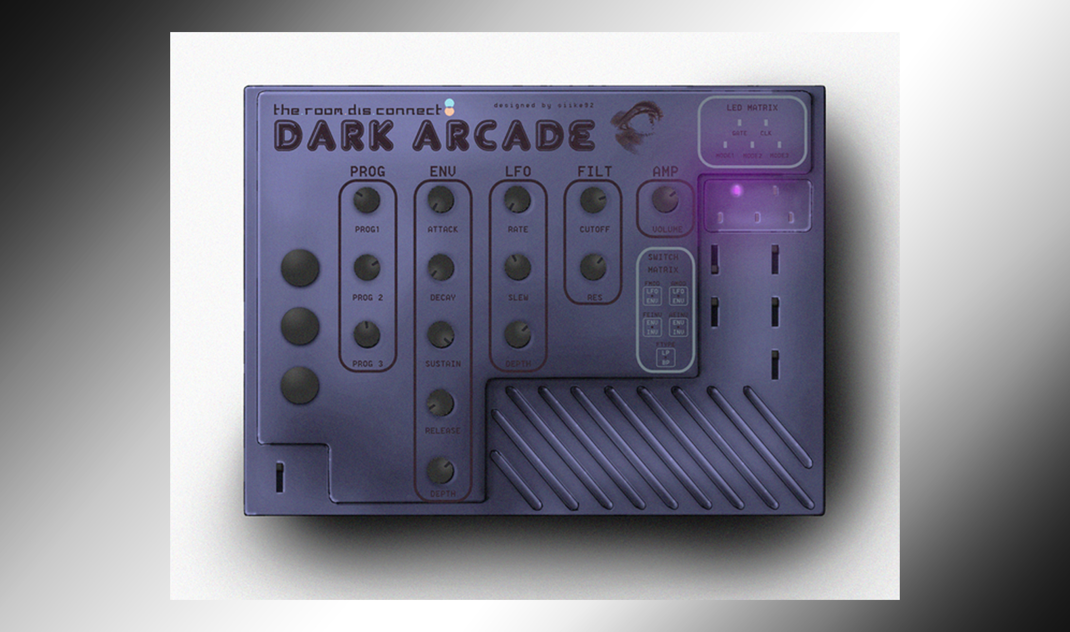 Dark Arcade: Paraphonischer Hybrid-Synth mit vier Stimmen für 120 Dollar