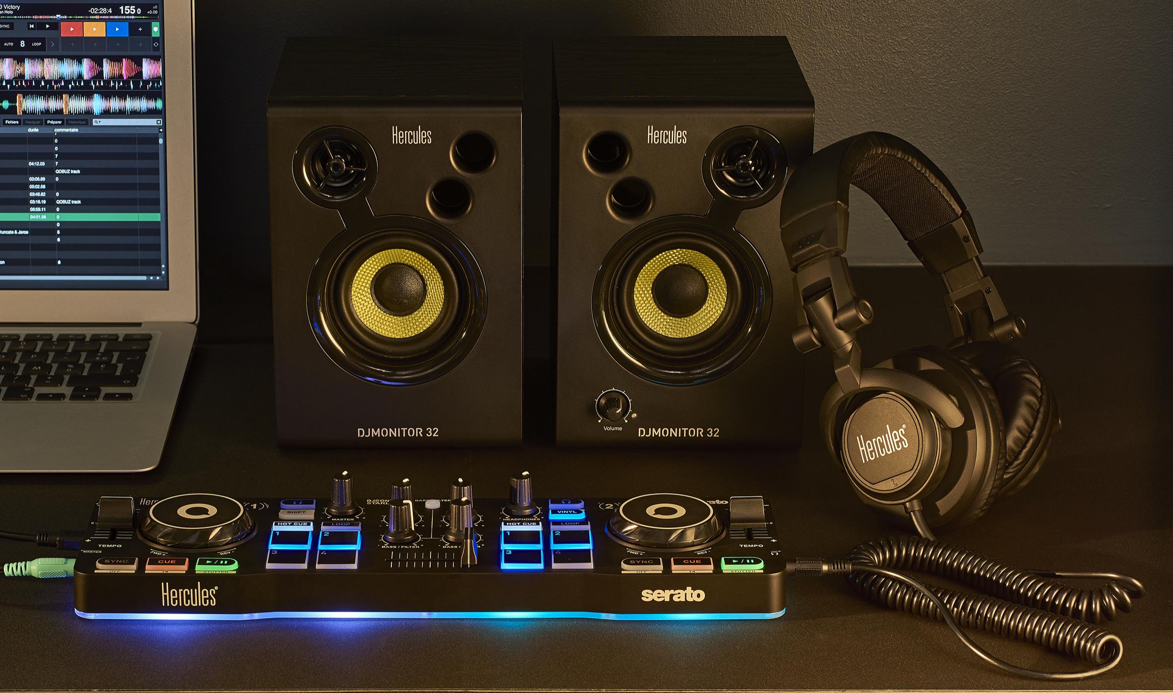 Komplettpaket für Beginner: Das DJStarter Kit von Hercules