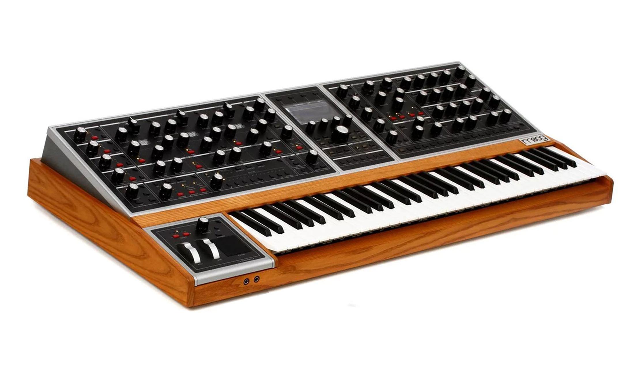 Moog One - endlich wieder ein analoger polyphoner Moog!