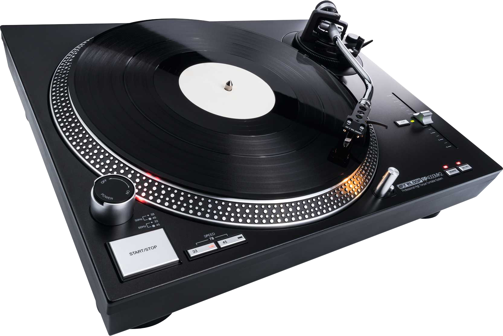 Test: Reloop RP-4000 MK2 / DJ-Plattenspieler