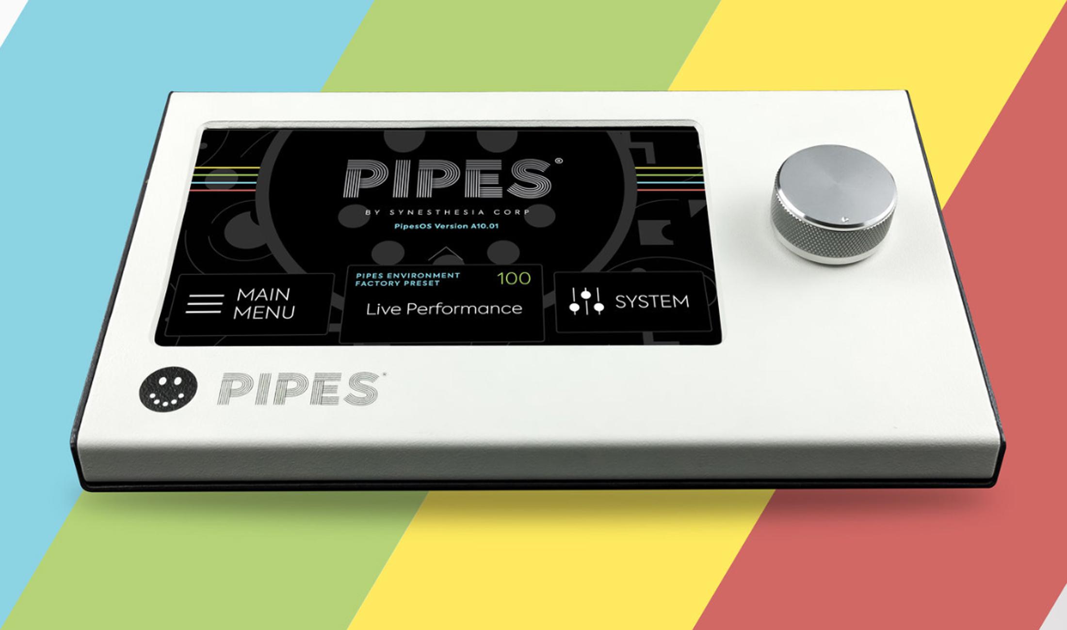 Synesthesia Corp Pipes ist ein Hi-Tech-Sampler für Studio- und Live-Performance