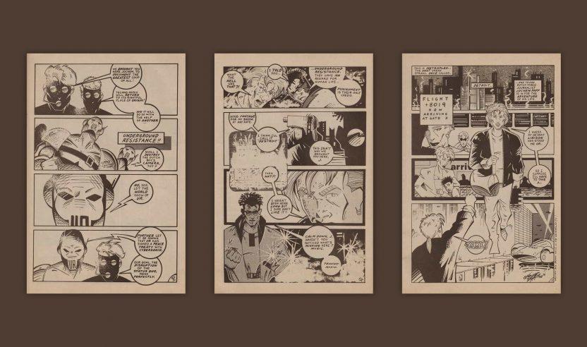 90s: Futuristischer Techno-Comic aus Detroit