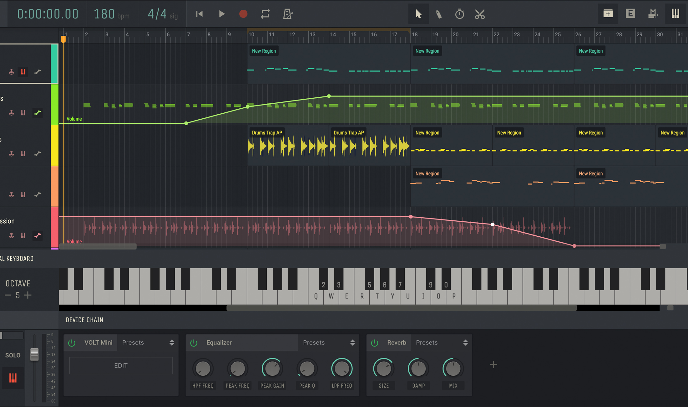 Amped Studio 2: Eine komplette DAW mit Plug-ins läuft im Browser