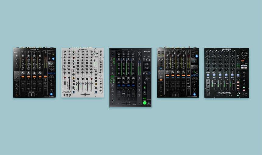 Die besten Club-Mixer für DJs.
