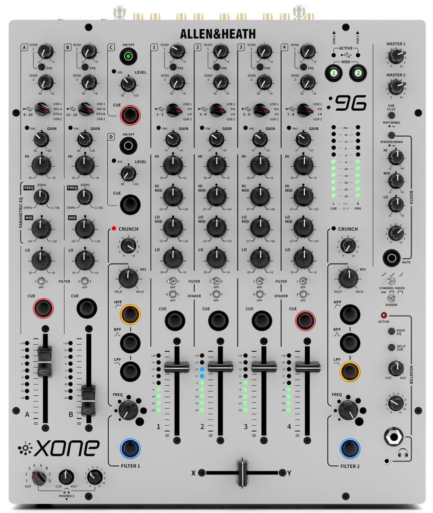 Xone:96 DJ-Mixer von Allen&Heath.