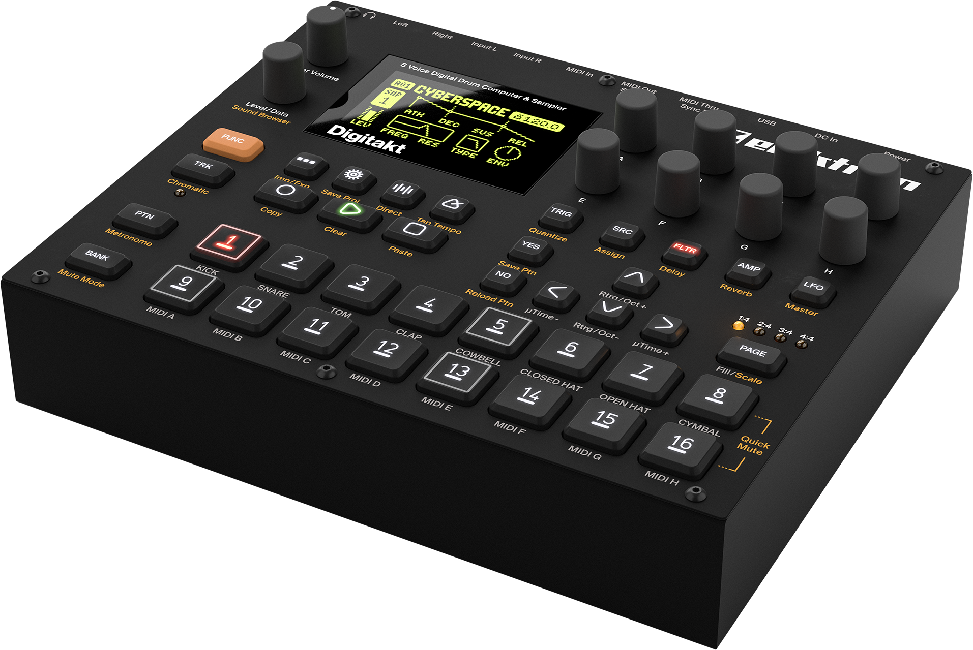 Test: Elektron Digitakt – Beat Making Powerhouse