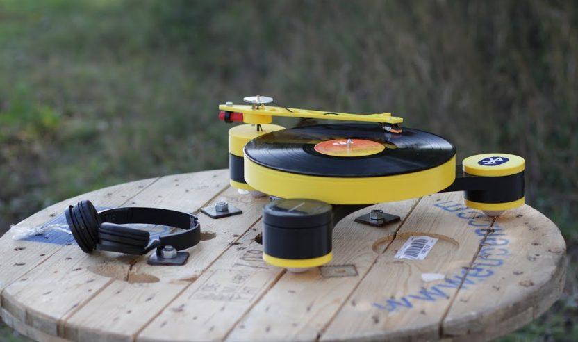 Lenco-MD: Modularer Plattenspieler aus dem 3D-Drucker
