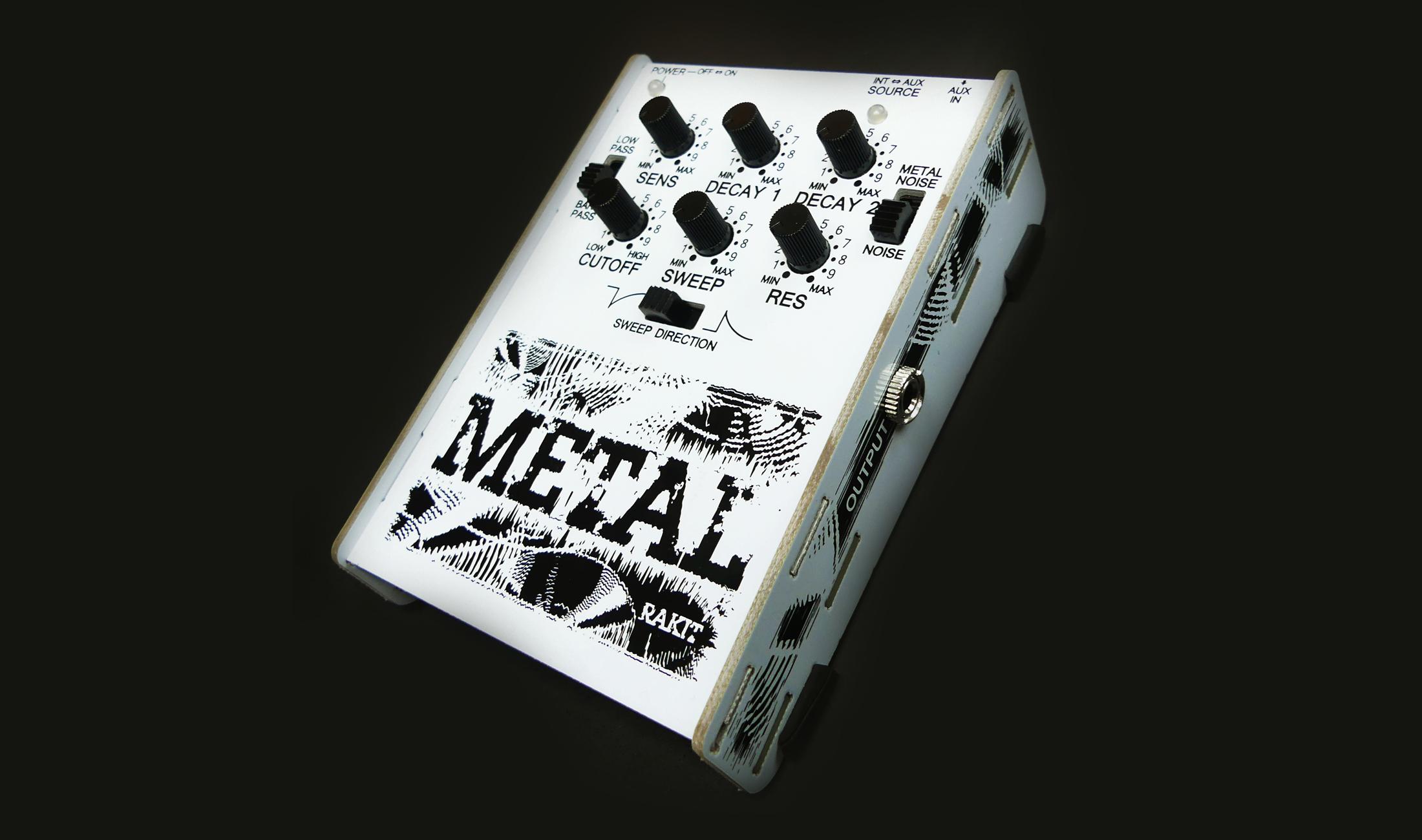 Metal von Rakit ist ein sehr vielseitiger Drumsynth für unter 80 Euro
