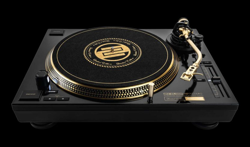 Limited Edition: Reloop RP-7000 MK2 in Gold